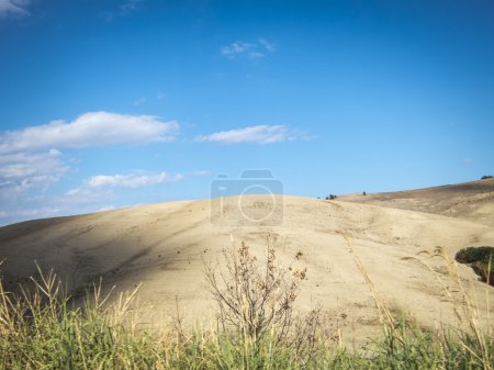 country landscape in basilicata, southern  italy