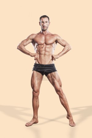 muscle bodybuilding athlete