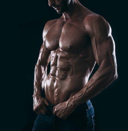muscle man torso