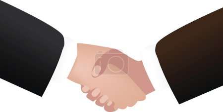 handshake clipart illustration