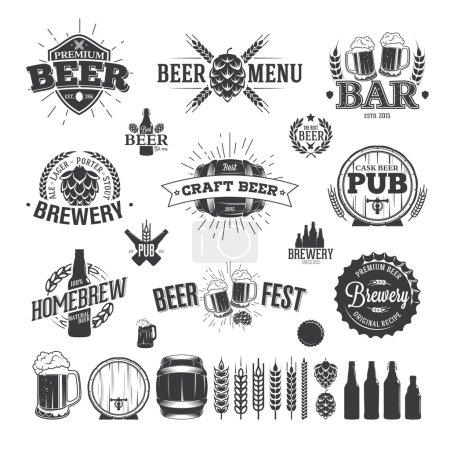 Пивная этикетка и логотипы