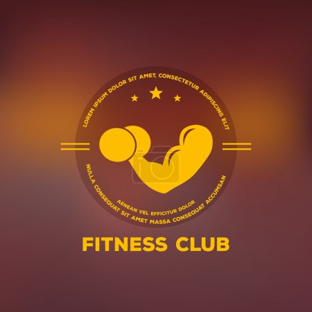 Logo for fitness club