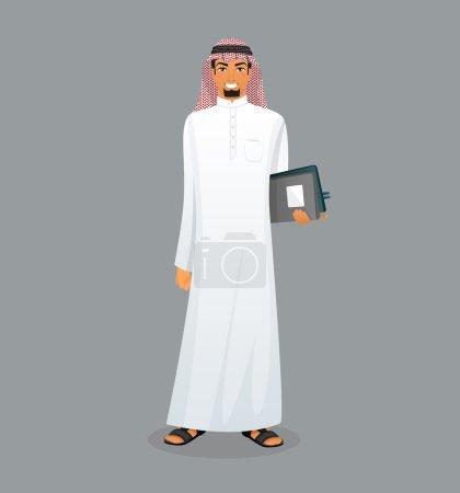 Arabic man character image