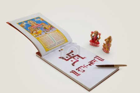 Lakshmi and ganesha idols