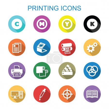 printing long shadow icons