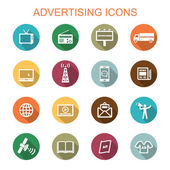 advertising long shadow icons