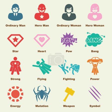 superhero elements