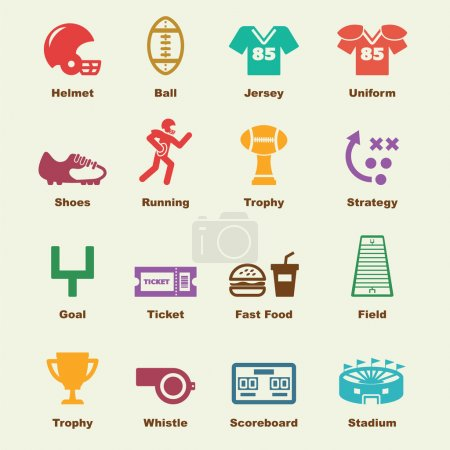 american football elements
