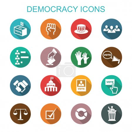 democracy long shadow icons