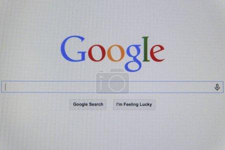 THAILAND SEPTEMBER 2 2014 Google