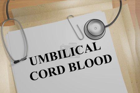 Umbilical Cord Blood medicial concept
