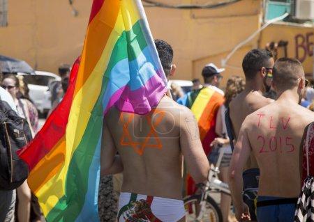 TEL-AVIV - ISRAEL 12 JUNE 2015: Tel Aviv Gay Pride parade