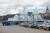 Due Corvette stealth militari nella classe Visby si imbarcò in St