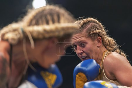 WBC title match between Mikaela Lauren (SWE) vs Klara Svensson (