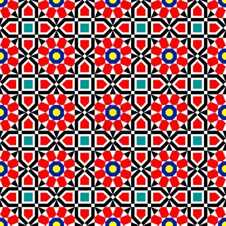 Vector Islamic Art Pattern
