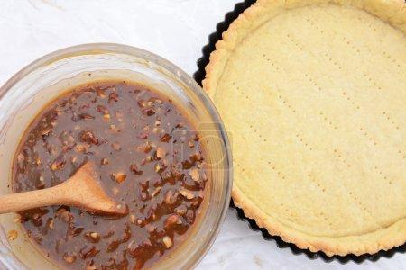 Pekannuss - nussige Kuchenfüllung und Tortenkruste