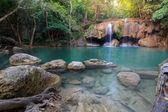 Erawan Waterfall in National Park