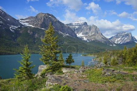 St. Mary's Lake in Glacier National Park Montana