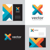Design element with two business cards - 05