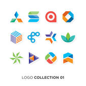 Logo collection 03 Vector graphic design elements for your company logo