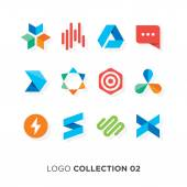 Logo collection 02 Vector graphic design elements for your company logo