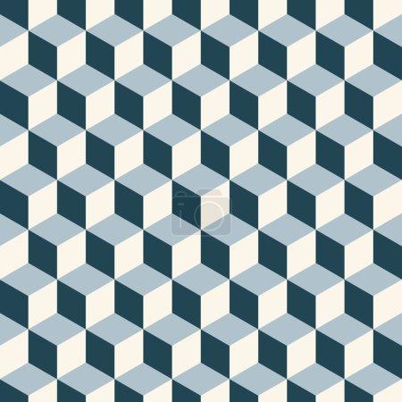 Cubes 3d pattern background.