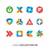 Logo collection 06 Vector graphic design elements for company logo