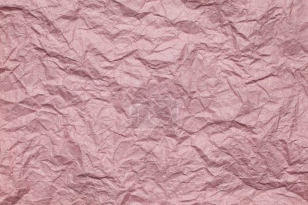 Pink Crumpled paper background