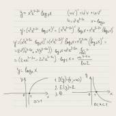 Vektorové vzorek s matematické vzorce