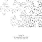 Creative abstract triangle pattern Polygonal  background Hipst