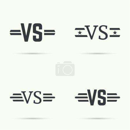 Versus sign vecctor