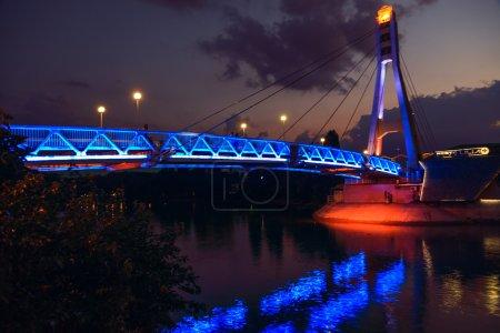 Photo pour Krasnodar pont de baisers - image libre de droit
