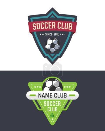 Soccer club emblem