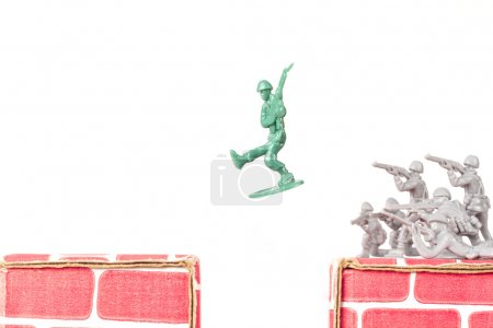 Green Army Man Escapes