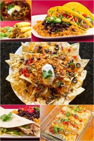 Mexican Food Collage