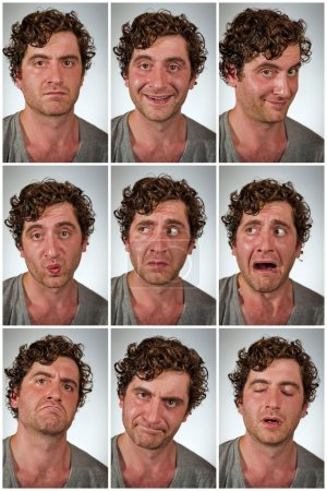 Real Person Facial expressions