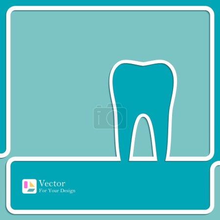 Symbol for dental clinic.
