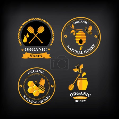 Set Honey badges and labels