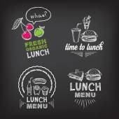 Lunch menu restaurant design