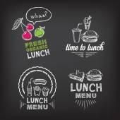 Lunch menu restaurant design