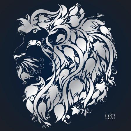 Leo. Astrology Zodiac sign.