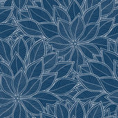 Leaves seamless pattern background.