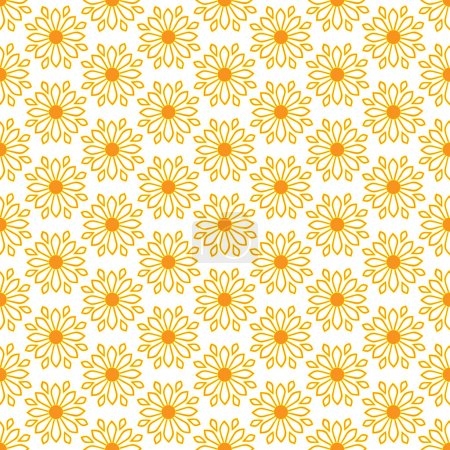 Cute seamless pattern of sun. Doodle hand drawn style .