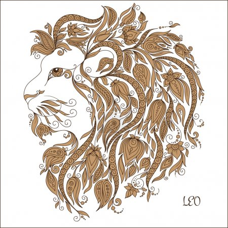Zodiac sign - Leo.
