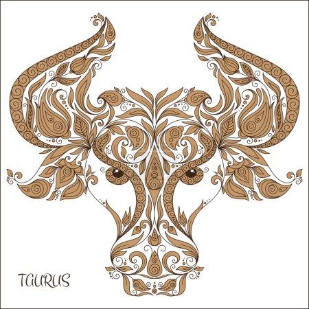 Zodiac sign - Taurus.