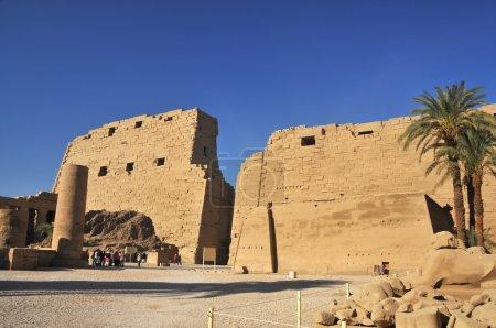 Egyptian temple of Amun at Karnak