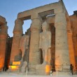 Colossal statues of Ramses II at Luxor Temple in E...