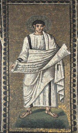 Papyrus scroll, Ravenna Italy