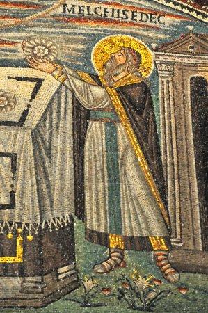 The king of Jerusalem from Genesis, Melchisedec