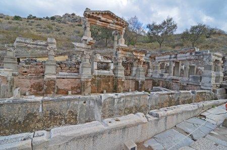 Fountain at Ephesus, Turkey